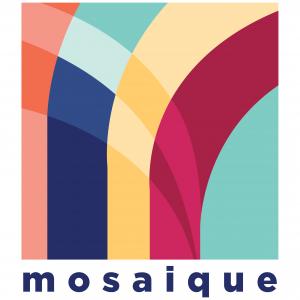 Mosaique Logo weißer Hintergrund